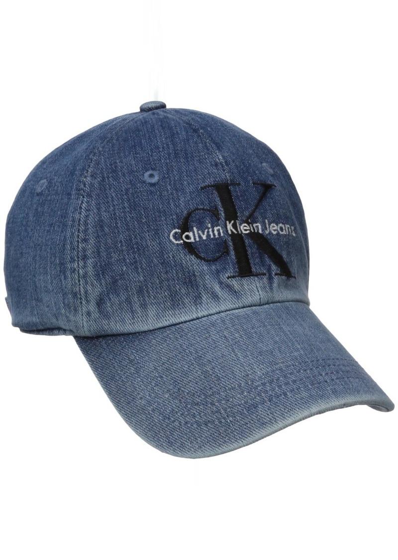 Calvin Klein Calvin Klein Jeans Men s Reissue Logo Baseball Dad Hat ... a9223cb1af5