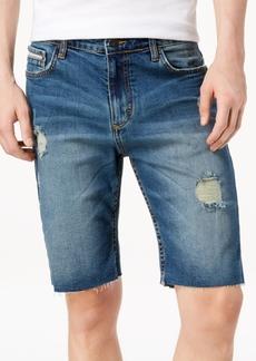 5cbe7f552917 Calvin Klein Flat Front Striped Twill Shorts