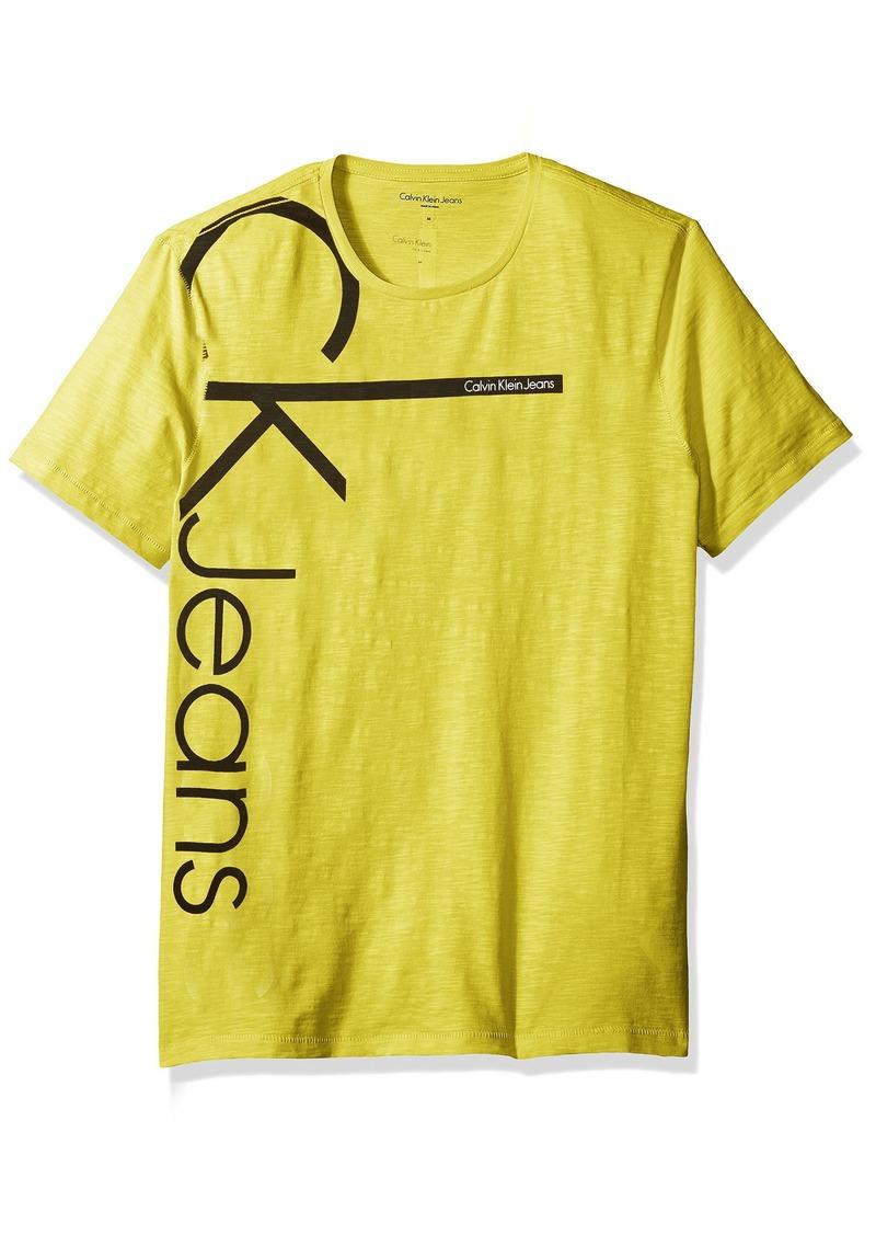 Calvin Klein Calvin Klein Jeans Men 39 S Short Sleeve Calvin