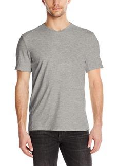 Calvin Klein Jeans Men's Short Sleeve Mixed Media V-Neck T-Shirt  MEDIUM