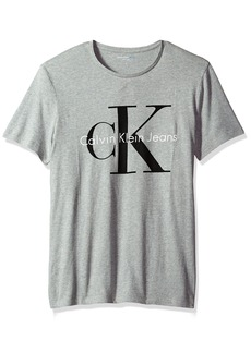 Calvin Klein Jeans Men's Short Sleeve Monogram Logo T-Shirt