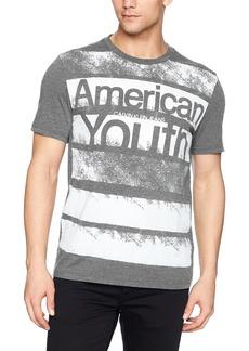 Calvin Klein Jeans Men's Short Sleeve Oversized Boxy T-Shirt American Youth Logo  L