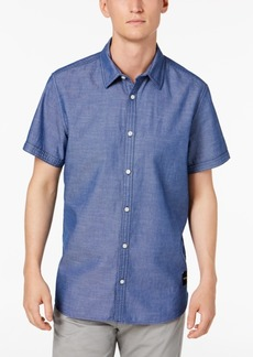 Calvin Klein Jeans Men's Short-Sleeve Oxford Shirt