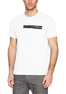 Calvin Klein Jeans Men's Short Sleeve T-Shirt Calvin Pocket Print Crew Neck  XS
