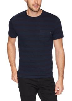 Calvin Klein Jeans Men's Short Sleeve T-Shirt Nep Stripe With Pocket  L