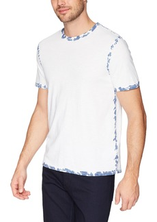 Calvin Klein Jeans Men's Short Sleeve T-Shirt with Dyed Seams  L