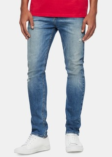 Calvin Klein Jeans Men's Skinny-Fit Stretch Destroyed Jeans