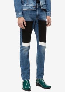 Calvin Klein Jeans Men's Slim-Fit Blocked Patches Jeans, Ckj 026