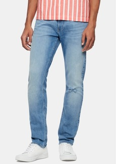 Calvin Klein Jeans Men's Slim-Fit Stretch Destroyed Jeans