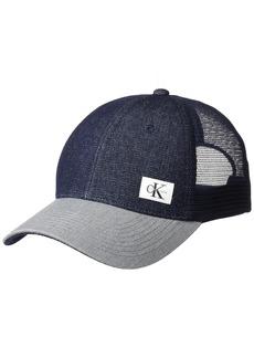 Calvin Klein Jeans Men's Snapback Trucker Hat  ONE Size