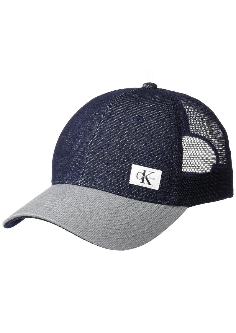 c1b2083e0c2 SALE! Calvin Klein Calvin Klein Jeans Men s Snapback Trucker Hat ONE ...