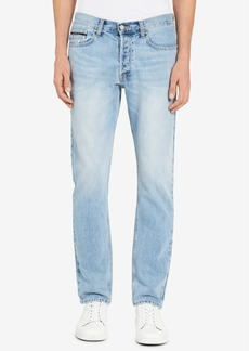 Calvin Klein Jeans Men's Straight Tapered Fit Jeans