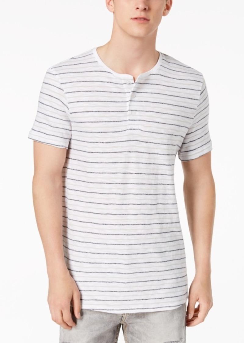 ee75407c Calvin Klein Calvin Klein Jeans Men's Striped Henley T-Shirt Now $7.96