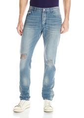 Calvin Klein Jeans Men's Taper Destructed Jean  40W 30L