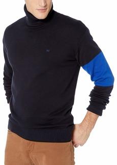 Calvin Klein Jeans Men's Turtleneck Logo Sweater EU Night Sky