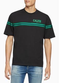 Calvin Klein Jeans Men's Varsity Tape Crewneck T-Shirt