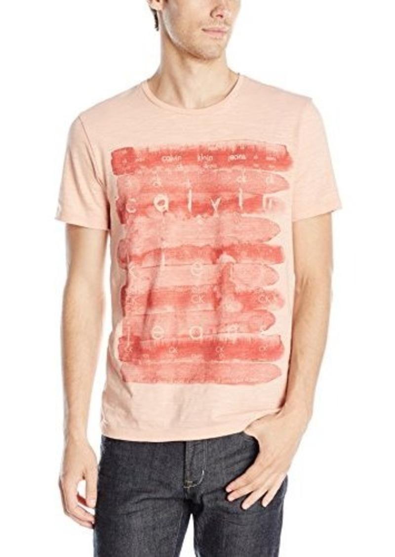 Calvin Klein Jeans Men's Watercolor T-Shirt