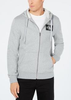 Calvin Klein Jeans Men's Zip-Front Monogram Hoodie, Created for Macy's