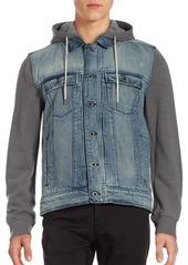 Calvin Klein Jeans Mixed Media Mariner Jacket