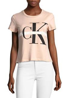 Calvin Klein Jeans Monogram Cotton Tee