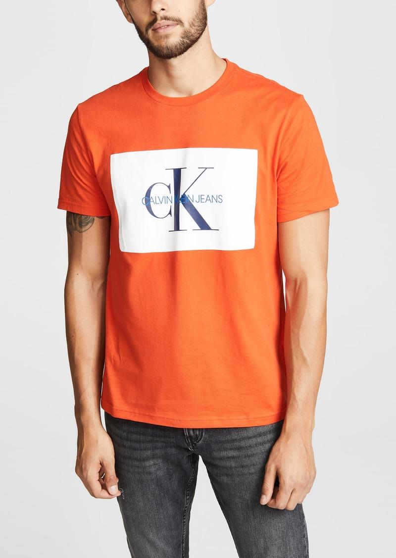 Calvin Klein Jeans Monogram Crew Neck Tee