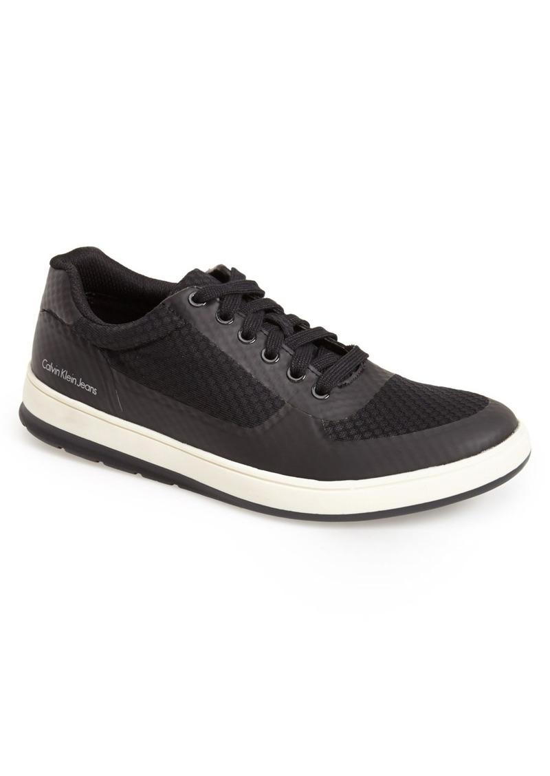 calvin klein calvin klein jeans 39 morton 39 mesh sneaker men. Black Bedroom Furniture Sets. Home Design Ideas