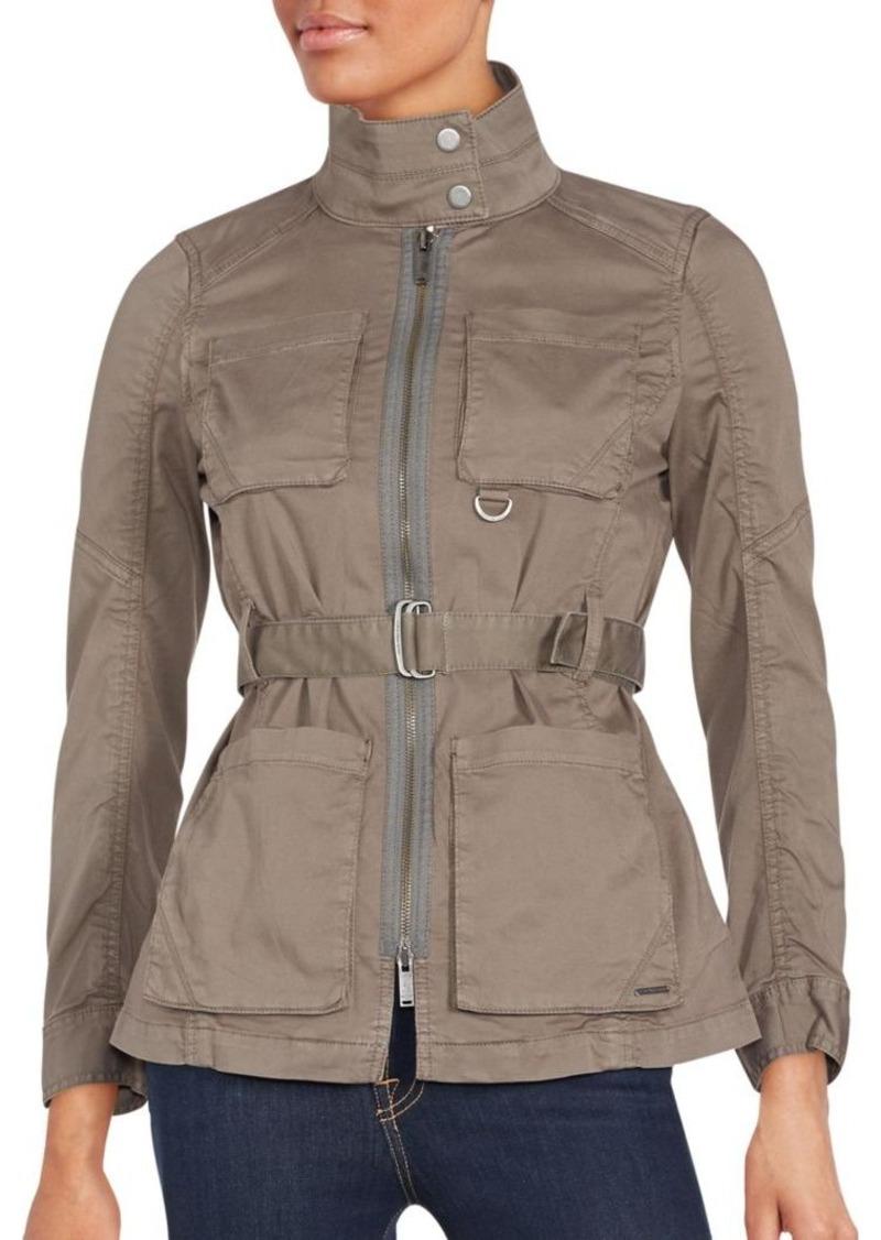 Calvin Klein Jeans Multi-Pocket Long Sleeve Jacket