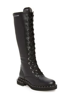 Calvin Klein Jeans Netta Tall Combat Boot (Women)