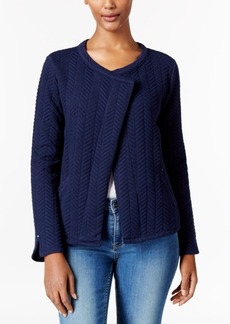 Calvin Klein Jeans Open-Front Quilted Jacket