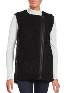 Calvin Klein Jeans Oversized Faux Fur Vest