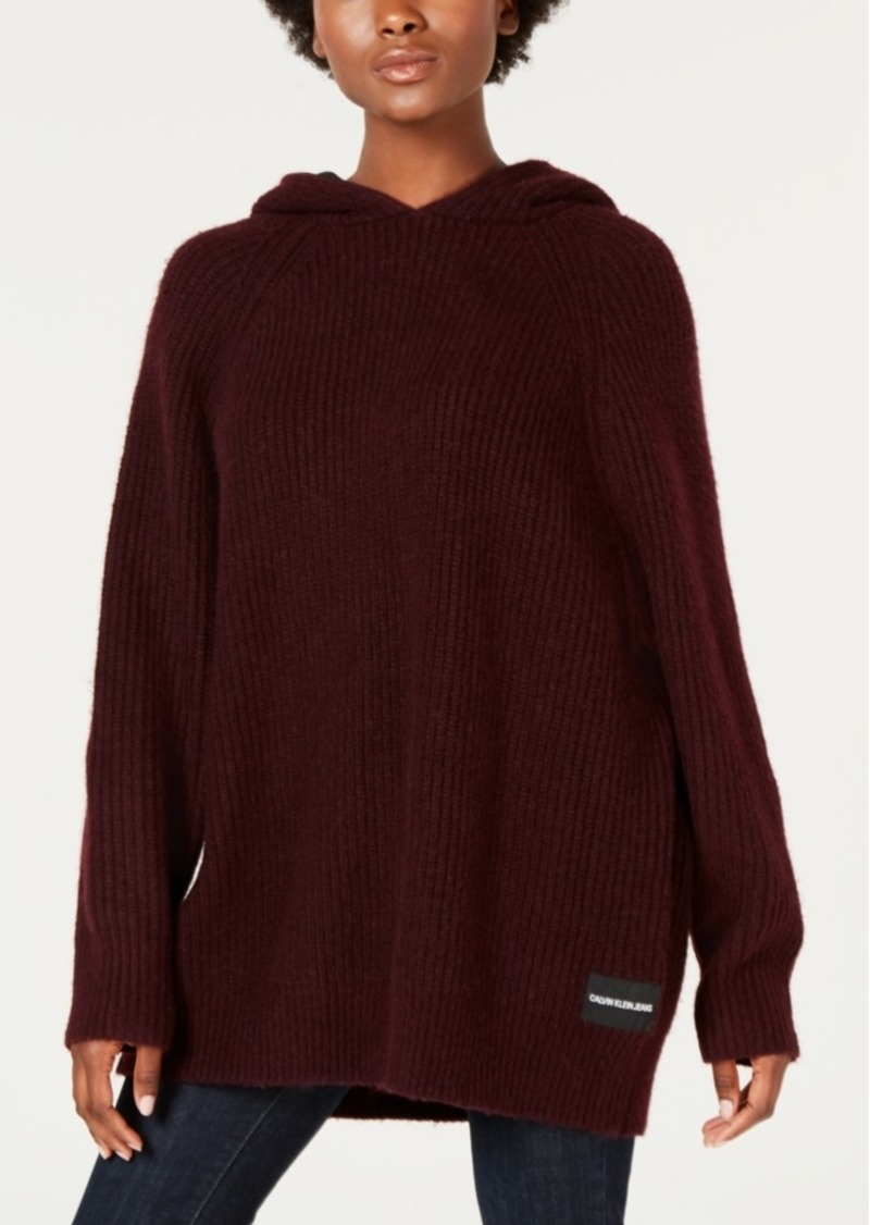 Calvin Klein Jeans Oversized Hooded Sweater