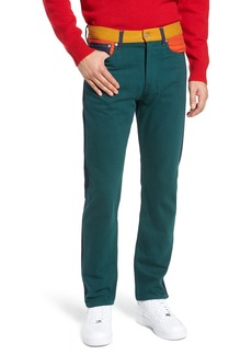 Calvin Klein Jeans Patch Colorblock Slim Fit Jeans (Ukelely Patch)