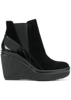 Calvin Klein Jeans platform ankle boots - Black