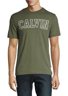 Calvin Klein Jeans Printed Cotton Tee