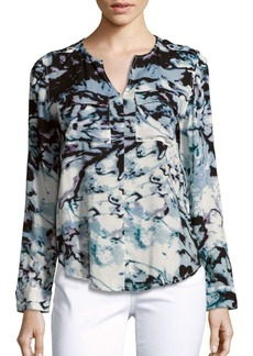 Calvin Klein Jeans Printed Long-Sleeve Top
