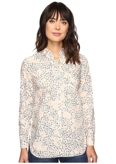 Calvin Klein Jeans Printed Slim Crisp Boyfriend Button Down Long Sleeve Woven Shirt
