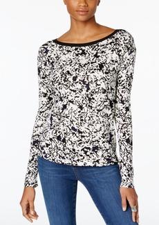 Calvin Klein Jeans Printed V-Back Top