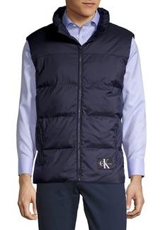 Calvin Klein Jeans Full-Zip Puffer Vest