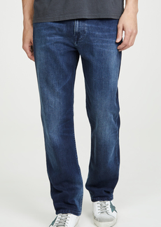 Calvin Klein Jeans Relaxed Straight Leg Jeans in Marshall Blue