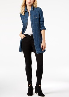 Calvin Klein Jeans Retro Luxe Cotton Denim Shirtdress