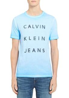 Calvin Klein Jeans Reverse Calvin Crewneck Cotton Tee