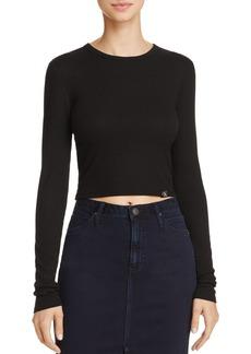 Calvin Klein Jeans Rib Crop Tee