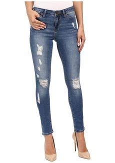 Calvin Klein Jeans Rip & Repair Ultimate Skinny in Classic Blue
