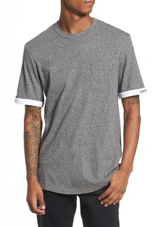 Calvin Klein Jeans Rolled Cuff Pocket T-Shirt