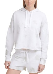 Calvin Klein Jeans Rubber Logo Tie-Dyed Hoodie
