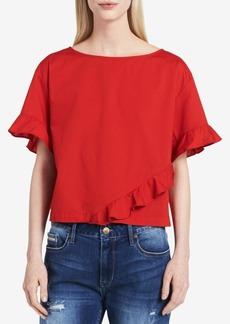 Calvin Klein Jeans Ruffle Top