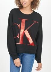 Calvin Klein Jeans Sequin Graphic Sweatshirt