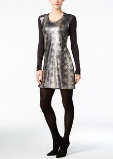 Calvin Klein Jeans Sequined Bodycon Dress