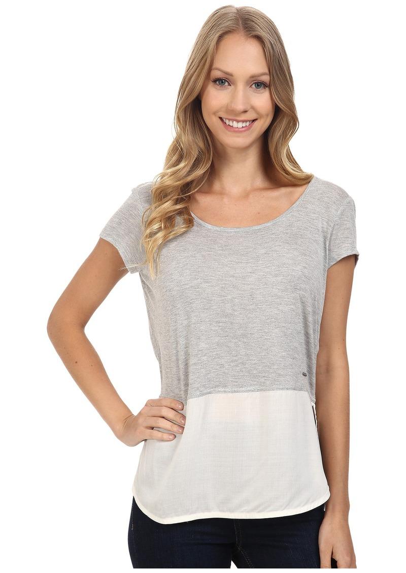 Calvin Klein Jeans Short Sleeve Mixed Media Tee