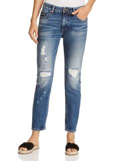 Calvin Klein Jeans Slim Boyfriend Jeans in Indigo Hazard